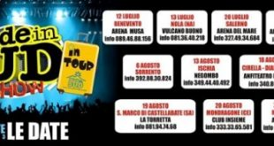 Made in Sud tour 2013