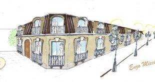 Illustrazione dello Stand di Enzo Miccio per TuttoSposi