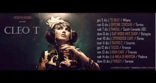 Songs of gold e shadow, Cleo T Tour 2013 in Italia