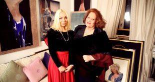 Polina Ferari e Baronessa Maria Lucia Soares