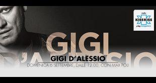 Gigi D'Alessio su Kiss Kiss