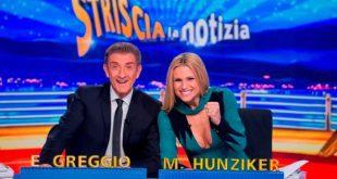 Striscia la Notizia - Ezio Greggio e Michelle Hunziker