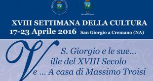 Settimana della Cultura 2016 - San Giorgio a Cremano