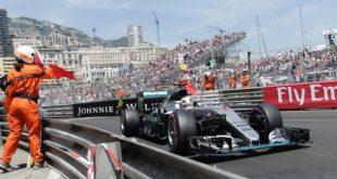 Hamilton al Gran Premio di Monaco