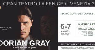 Matteo Setti in Dorian Gray a Venezia