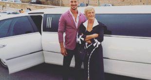 Emanuele Bruno con la nonna