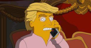 Donald Trump da I Simpson