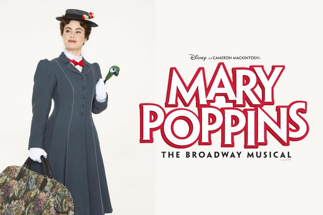 Giulia Fabbri è Mary Poppins. Foto di Alessandro Pinna.
