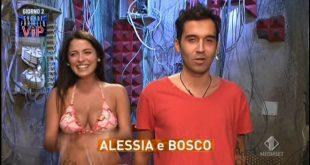 Grande Fratello Vip - Bosco e Alessia Macari
