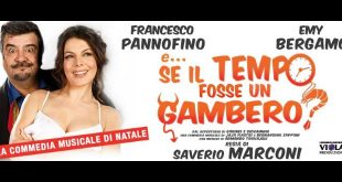 E Se il tempo fosse un gambero con Francesco Pannofino ed Emy Bergamo