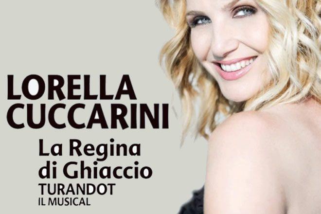 Lorella Cuccarini è La regina di ghiaccio in Turandot il Musical