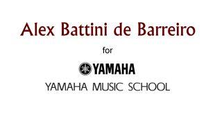 Alex Battini de Barreiro alla Yamaha Music School
