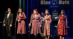 La Famiglia Canterina de Le Sorelle Marinetti al Blue Note