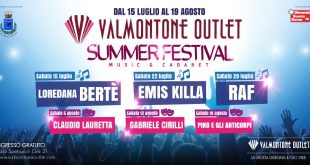 Valmontone Outlet Summer Festival 2017