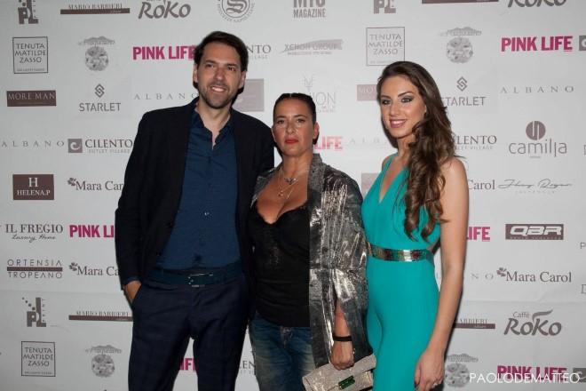 Francesco Russo, Linda Suarez e Federica Passeggio. Foto di Paolo De Matteo.