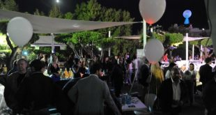 Il party DConcept a Villa Diamante