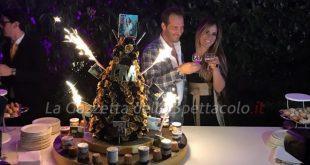 Maurizio Aiello e Ilaria Carloni al summer party I'M Magazine 2017