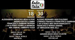 Radio Italia Live in Tour 2017
