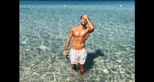Andrea Luceri, Mister Italia 2015. Foto da Facebook.