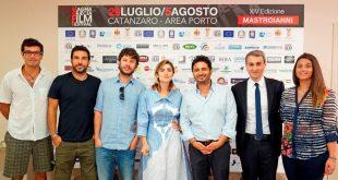 Edoardo Leo a Greta Scarano al Magna Graecia Film Festival. Foto Ufficio Stampa.