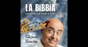 Paolo Cevoli in La Bibbia. Foto di Giovanni Bortolani.