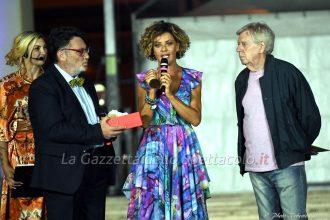 Il premio a Eva Grimaldi.