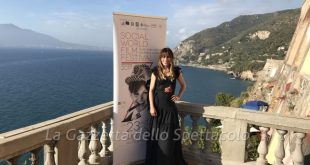 Sabrina Impacciatore al Social World Film Festival 2017
