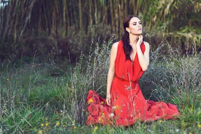 Melania Dalla Costa. Foto di Maria La Torre.