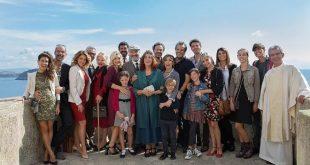 A Casa Tutti Bene, Gabriele Muccino e il cast. Foto Ufficio Stampa.
