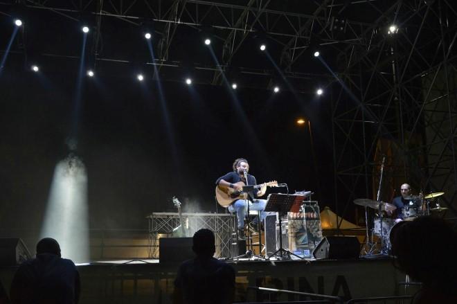 Antonello Lacustika live. Foto da Facebook.