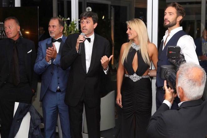 La presentazione del corto Ciao Nina a Venezia74. Foto fornite da Ufficio Stampa.