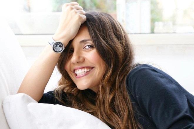 Serena Rossi, attrice e conduttrice di Celebration. Foto di Santa Camilli.
