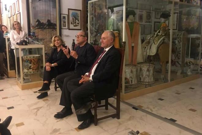 Silvia, Carlo e Luca, figli di Mario Verdone
