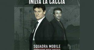 Squadra Mobile - Operazione Mafia Capitale. Giorgio Tirabassi e Daniele Liotti. Foto da pagina Facebook.