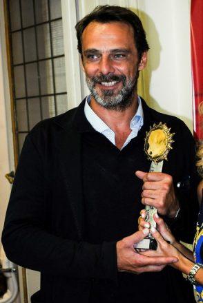 Alessandro Preziosi premiato al Galà del Cinema e della Fiction 2017. Foto di Sirolesi.