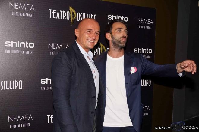 Alfonso Signorini per Shinto al Teatro Posillipo. Foto di Giuseppe Moggia.
