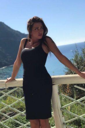 Anna Brancati ad Ischia e presente al Festival di Napoli.