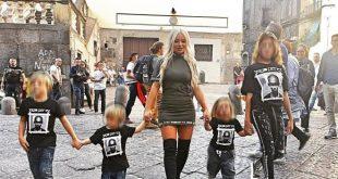 Beata Beatz per il Centro Storico di Napoli. Foto dalla fanpage Facebook dell'artista.