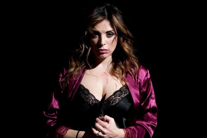 Elena Russo in La Reggente. Foto di Vittorio Carfagna