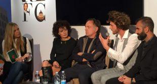 Francesco Ferdinandi alla Festa del Cinema di Roma con Stay. Foto da Ufficio Stampa..
