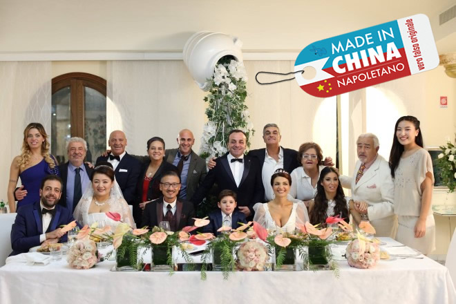 Il cast di Made in China Napoletano.