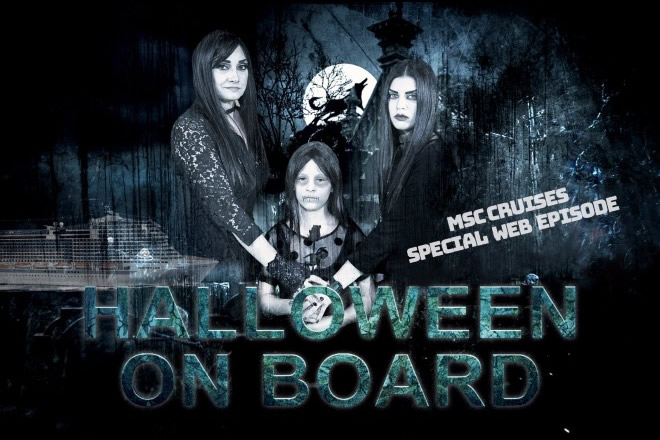 Kelly e Kloe, la web serie di MSC Crociere - Episodio di Halloween