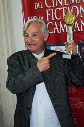 Leo Gullotta premiato al Galà del Cinema e della Fiction 2017. Foto di Sirolesi.