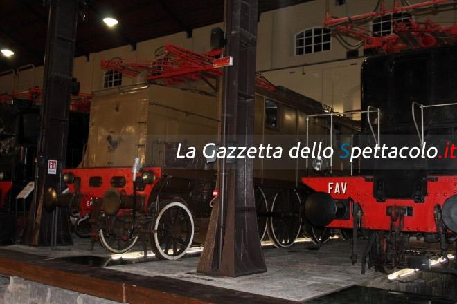 Locomotiva del Museo di Pietrarsa durante Hera Wedding