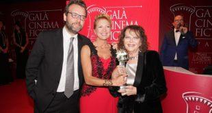 Marco Spagnoli, Valeria della Rocca e Claudia Cardinale