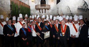 Ordine Internazionale dei Discepoli d'Auguste Escoffier 2017 al Castello di Limatola.