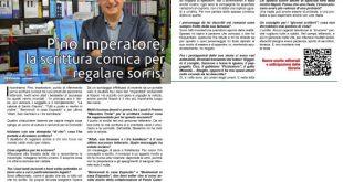 Pino Imperatore su La Gazzetta dello Spettacolo MAGAZINE - Settembre 2017