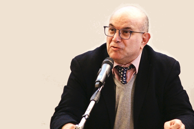 Professor Marco Musella. Foto di Giancarlo Cantone.