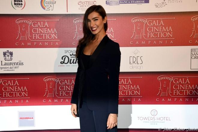 Stella Egitto tra i protagonisti di Malarazza al Gala del Cinema e della Fiction. Foto di Roberto Jandoli.