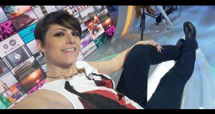 Velia Lalli in un selfie a Sbandati